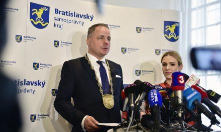 Bratislavská župa bude bilancovať výsledky za dva roky