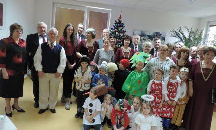 Vianočné stretnutie v DSS a ZPS  Pezinok